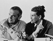 Charles and Ray Eames, plotting our future