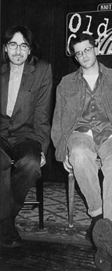 Loren MazzaCane Connors (left) and St. Louisan Darin Gray