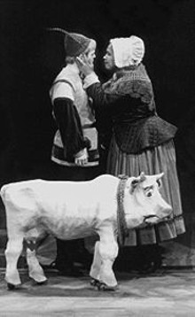 BRUCE  SUMMERS - Mark Lanyon and Janelle Anne Robinson in Into the Woods