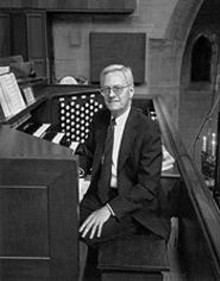 William Partridge at Christ Church Cathedral's 5,000-pipe organ