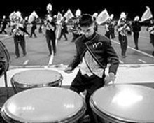 AMY ALTON BAUTZ - The Greater St. Louis Marching Band Festival featured the region's most boom-bastic high-school marching bands squaring off in a no-holds-barred battle of brass.