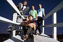 A Cursive Memory: Cute band alert!