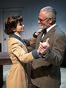 LISA MANDEL - Leslie Zang and Kevin Beyer in Sabina.