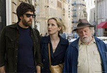 Meet the Parents meets Paris: Adam Goldberg, Julie Delpy and Albert Delpy.
