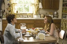 Girl trouble: Jane Fonda (left) and Lindsay Lohan (right) in Georgia Rule.