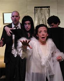 The perfect Plan: (left to right) Chris Jones, Jill Ritter, Tonya Darabcsek and John Wolbers.