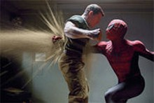 It's about this easy to punch through Spider-Man 3's plot, too. Sigh.