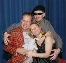 B. Weller, Michelle Hand and Will Ledbetter dance through fear in The Baltimore Waltz.