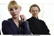 COPY;DNA FILMS LTD - Femmes fatale: Cate Blanchett and Judi Dench in the - spellbinding Scandal.