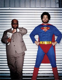 MATTHEW  DONALDSON - Gnarls Barkley: Who are those masked men?