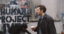 """""""Only Britain soldiers on"""": Clive Owen  in the - extraordinary Children of Men."""