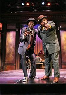 STEWART  GOLDSTEIN - J. Samuel Davis (left) and Drummond Crenshaw (right) are Misbehavin'.