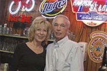 MIKE  DRESSLER - Mississippi Nights co-owner Rich Frame and his wife, Mary.