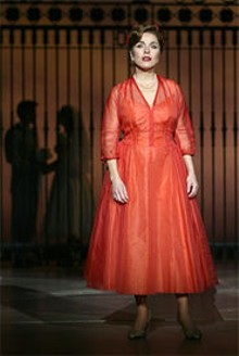JOAN  MARCUS - Fair lady: The talented Christine Andreas graces the Fox stage next week.
