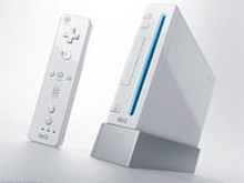Some people waited in line five hours just to take a Wii.