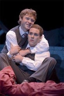 JAMES  VISSER - A rose by any other name: Bobby Steggert (left) and Daniel Zaitchik in R&J.