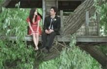 JONATHAN  WENK - Quarter-life crisis: Rachel Bilson (left) and Zach Braff talk. - And emote. And stuff.