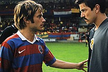 Bond of brothers: Gael García Bernal and Diego Luna.