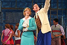 LARRY PRY/THE MUNY - The Muny's 42nd Street soars sky-high.