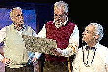 JOHN LAMB - Charting a new course: Richard Lewis, Kevin Beyer and David Gibbs in Heroes.