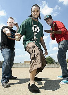 JENNIFER SILVERBERG - Rap like an Egyptian: Benjamin Sawyer, DJ Champ and Tef Poe.