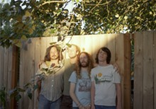 MIRANDA LEHMAN - Idle hands: The Shaky Hands enjoy some shady time.