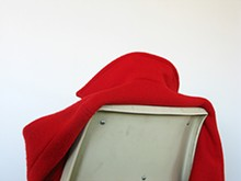 Jessika Miekeley, Jacket (Red Coat), 2009, Fuji Crystal Archive print, 18 by 13 inches.
