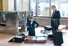 Checked baggage: Natalie (Anna Kendrick) helps Ryan (George Clooney) find solid ground in Jason Reitman's Up in the Air.