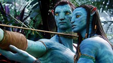 Culture war: Sam Worthington and Zoe Saldana lend their voices to Avatar.