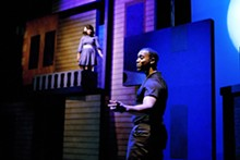 STEWART GOLDSTEIN - Sharisa Whatley and Nic Few in the Black Rep's Romeo and Juliet.