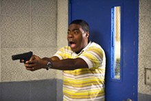 Good Cop: Tracy Morgan lays down the law in Kevin Smith's Cop Out.