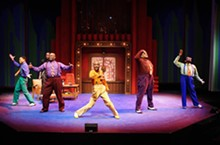 STEWART GOLDSTEIN - Let the good times roll: Five Guys Named Moe at the Black Rep.