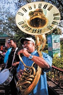 SKIP BOLEN - Rebirth Brass Band's Phil Frazier