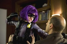 DAN SMITH - Chloë Moretz as Hit-Girl in Kick-Ass.