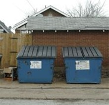 JENNIFER  SILVERBERG - Many city dwellers must schlep their recyclables to dodgy drop-off sites.