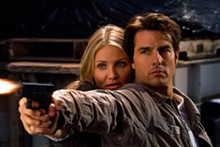 FRANK MASI, SMPSP - Cameron Diaz and Tom Cruise star in Knight.