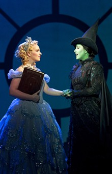 JOAN MARCUS - Natalie Daradich and Vicki Noon in Wicked.