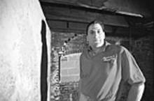 JENNIFER  SILVERBERG - Steven Scaglione says the Louderman parking garage damaged his business