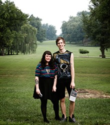 JENNIFER SILVERBERG - Mixtape Club cofounders Ashley Hohman and Luc Michalski: Be kind, rewind.