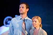 JOHN LAMB - Martin Fox and Michelle Hand in Echo Theatre Company's God's Ear.