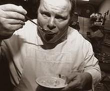 JENNIFER  SILVERBERG - Annie Gunn's chef Lou Rook III is an artist at flavor composition.