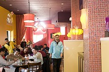 JENNIFER SILVERBERG - The details make Rasoi's new space pop.