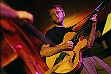 NICK SCHNELLE - Andy Hainz and David Wiatrolik jazz it up at The Gramophone on Tuesday, August 12.