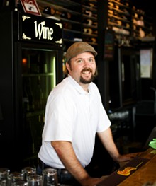 JENNIFER SILVERBERG - Owner of Cork Wine Bar, Mike Lonero.
