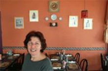 JENNIFER  SILVERBERG - Warm welcome: Hamish Bahrami's hospitality is as delightful as her desserts.