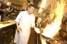 JENNIFER SILVERBERG - With bold dishes like Kobe rib eye and roasted venison, Lucas Park Grille is heating up the Washington Avenue culinary scene.