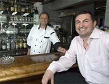 JENNIFER SILVERBERG - Family matters: Cousins Kostandin Ceko (background) and Alban Ziu run a consistently excellent restaurant.