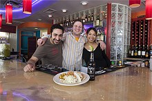 JENNIFER SILVERBERG - Maz Nooran, Jeff Winer and Liz Munn add flair to Tex-Mex faves at Flaco's Cocina.