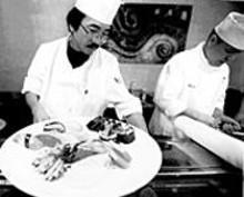 JENNIFER  SILVERBERG - Kenji Nemoto, chef at Sekisui