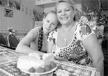 JENNIFER  SILVERBERG - Wonder women: Natalya Bryantseva (left) and her mother, Lidiya Skilioti (right), are Dvin's sole employees.